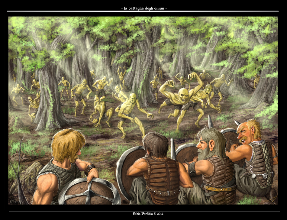 La Battaglia degli Omini