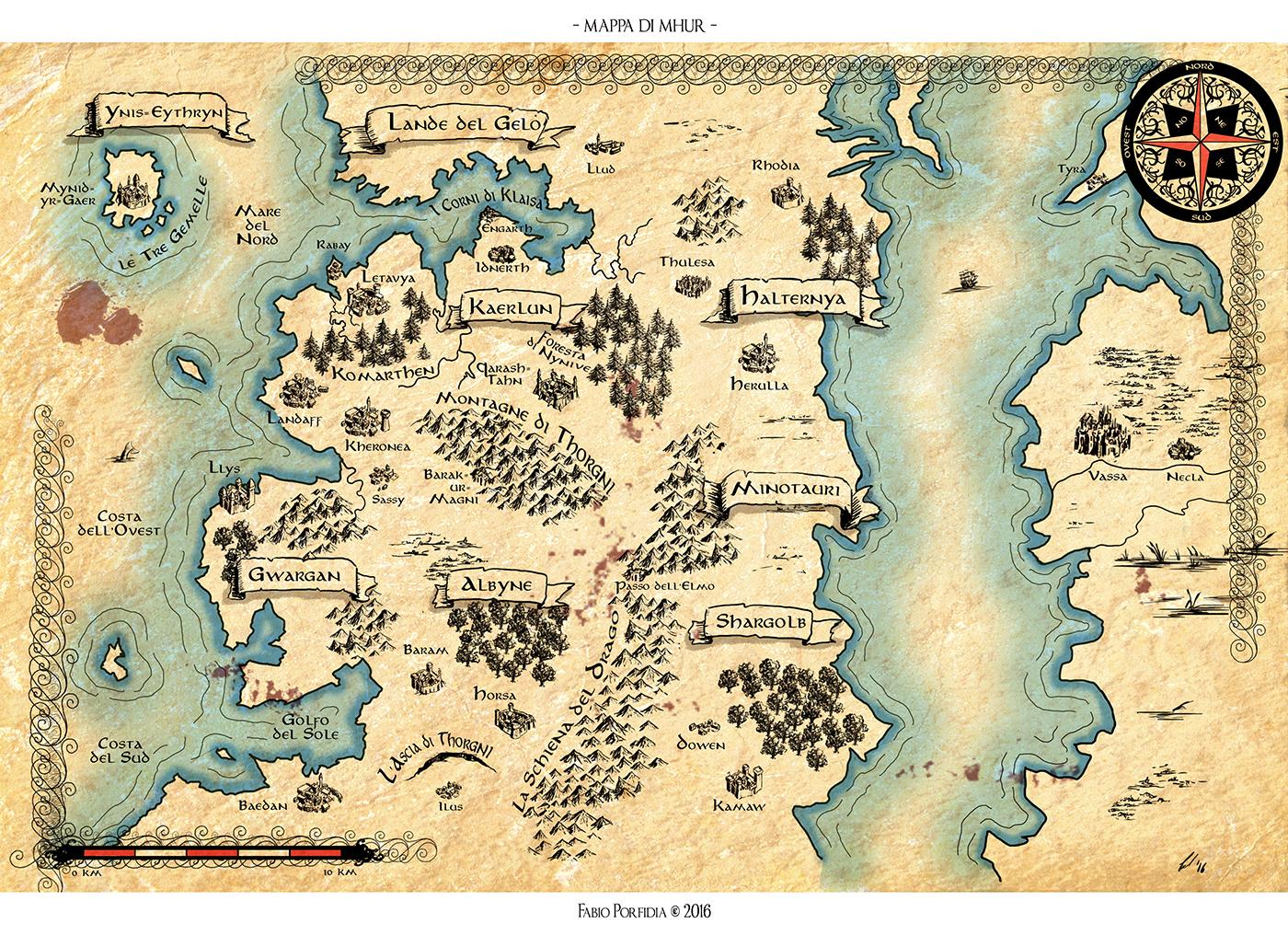 Mappa di Mhur II