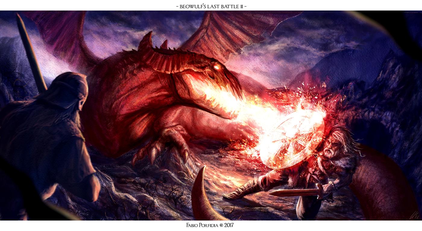 Beowulf's Last Battle II