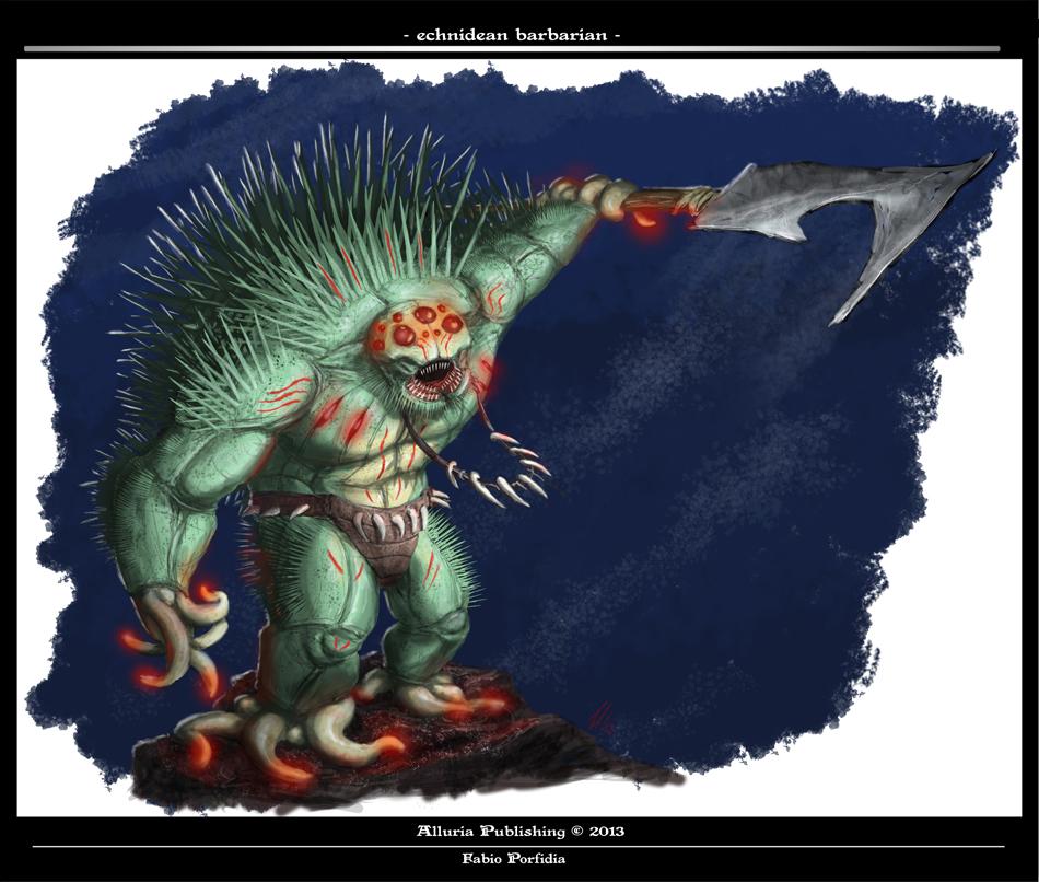 Echinidean Barbarian