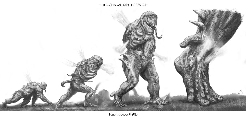Crescita Mutanti Gassosi