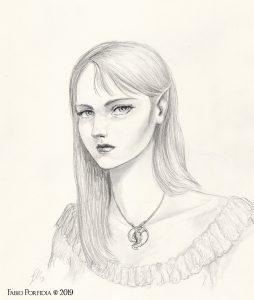 fanciulla elfica