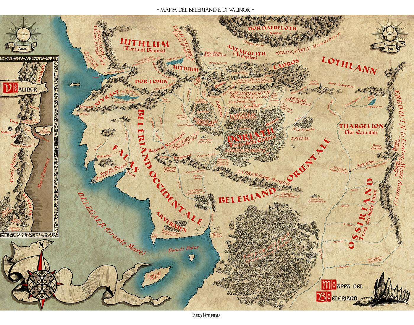 Beleriand e Valinor