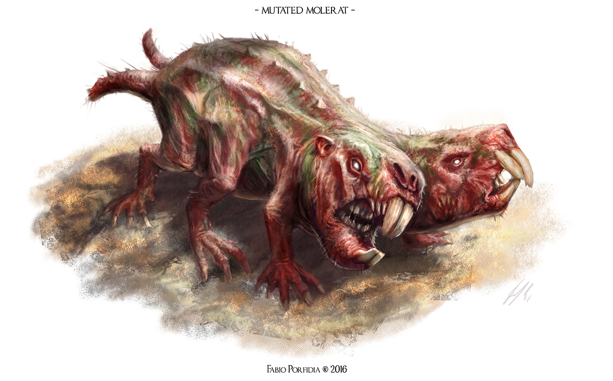 Mutated Molerat