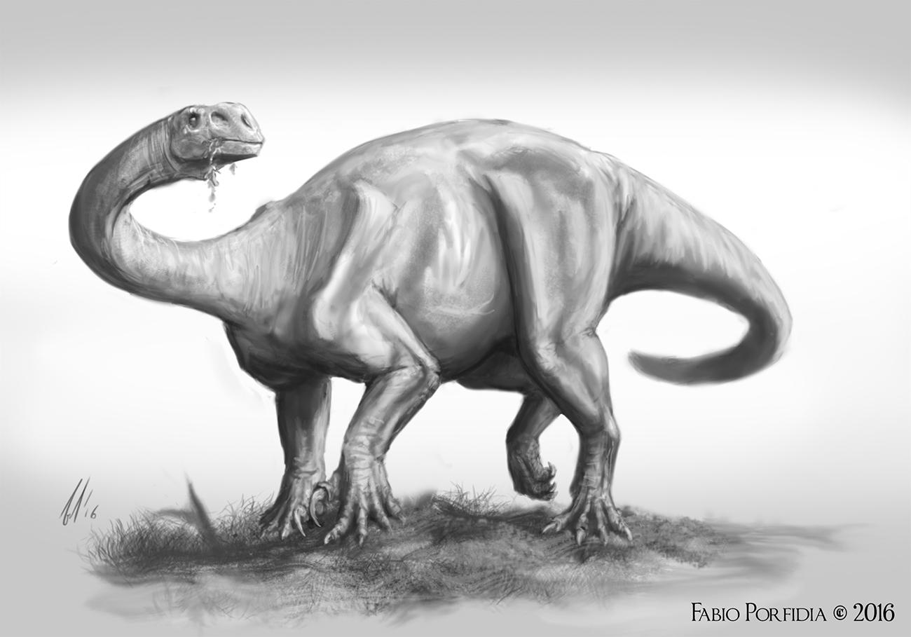 Plateosaurus study