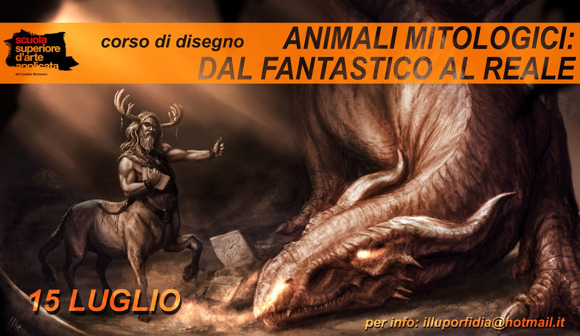 Corso Di Disegno Animali Mitologici Dal Fantastico Al Reale Lo
