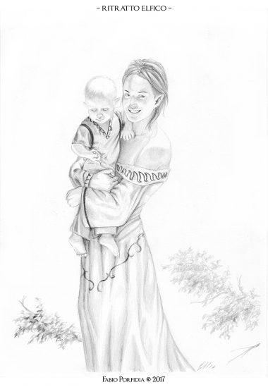 ritratto elfico