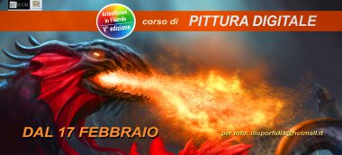 pittura digitale banner web