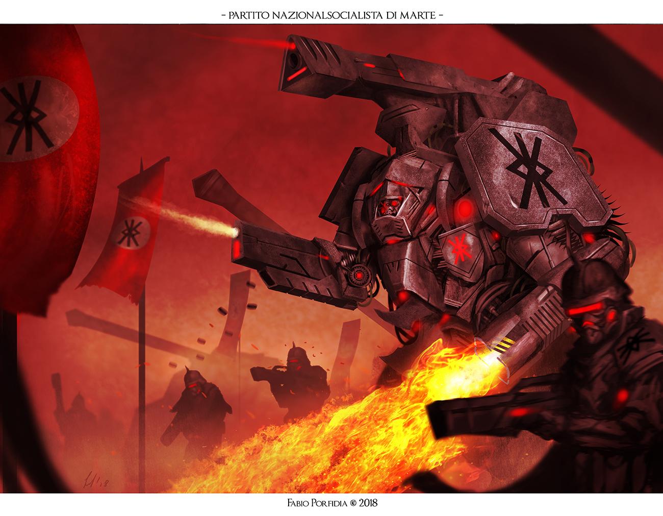 Partito Nazionalsocialista di Marte
