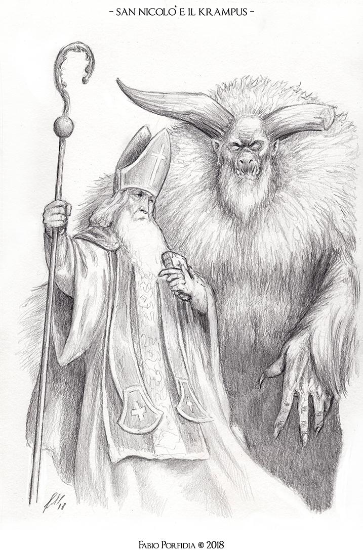 San Niccolò e il Krampus