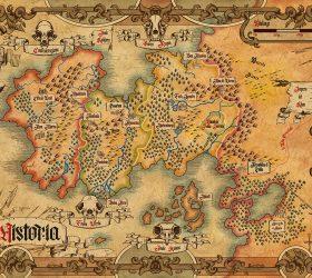 mappa Vesteria